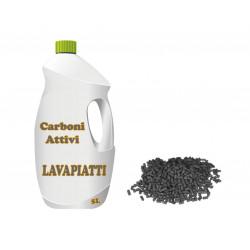 Lavapiatti ai carboni attivi in tanica da 5 Kg