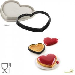 Kit Crostata o Torta ad Anello Mio Amore Tarte Ring Mon Amour da 22 x 19 cm