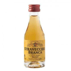 Brandy Stravecchio Branca Mignon cl 3