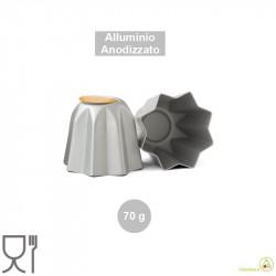 Stampo pandoro da 70 g in alluminio anodizzato