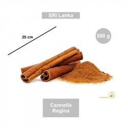 500 g Cannella Regina a stecche da 25 cm