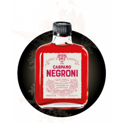 Negroni Carpano Cocktail Ready to Drink 100 ml