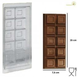 Stampo Cioccolato Tavoletta 1 Kg 150 mm
