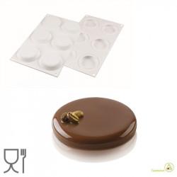 Stampo in Silicone Decor 50 ml diametro 6,7 cm da Silikomart