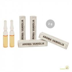 Aroma vaniglia liquida da Madma in fiala da 2 g, in pasticceria ideale per dolci