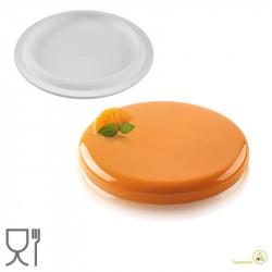 Stampo in Silicone Decor Round 400 ml diametro 16 cm da Silikomart