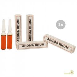 Aroma rhum liquido da Madma in fiala da 2 g, per aromatizzare impasti e creme per dolci
