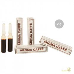 Aroma caffè liquido da Madma in fiala da 2 g, per aromatizzare impasti e creme per dolci