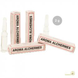 Aroma Alchermes liquido da Madma in fiala da 2 g, per aromatizzare impasti e creme per dolci