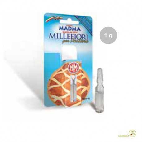 Aroma millefiori liquido da Madma in fiala da 1 g, per aromatizzare impasti e creme per dolci
