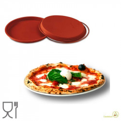 Stampo pizza pan, ruoto per pizza in silicone diametro 28 cm altezza 2 cm