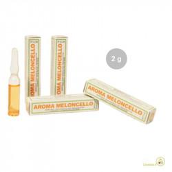 Aroma meloncello liquido da Madma in fiala da 2 g, per aromatizzare impasti e creme per dolci