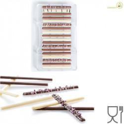 Stampo Sigaro di cioccolato 18 barrette da 9 cm in policarbonato da Decora