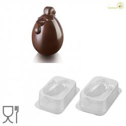 Lady Cocca o Signora Gallina  Kit 3D Stampo Cioccolato Termoformat da Silikomart
