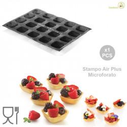 Air Plus 17 Square 30 x 40 Stampo 20 impronte lato 5 cm h 2 cm da Silikomart