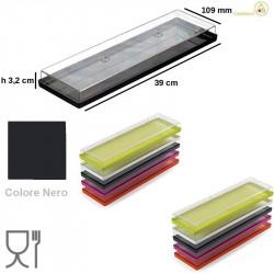 Small Total I-Gloo Trasparente Nero per Gelati e monoporzioni da Silikomart