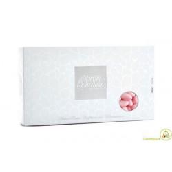 Confetti Maxtris alla mandorla Tipo Vesuvio colore Rosa in confezione da 1 kg