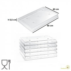 Total I-Gloo Trasparente 55 mm Espositore per Gelati e monoporzioni da Silikomart