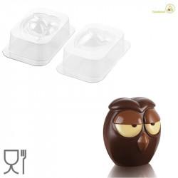 Kit Gufo Alfie 3D Stampo Cioccolato Termoformato  da Silikomart