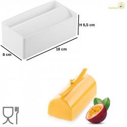 Stampo in Silicone Tronchetto Elegante Sleek Log 800 da 18 cm Silikomart
