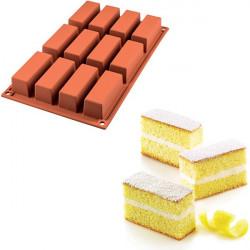 Stampo Cake in silicone per 12 tortine SF026 di Silikomart