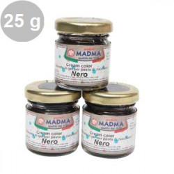 Colorante alimentare in gel Nero in barattolino da 25 g