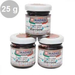 Colorante alimentare in gel Marrone  in barattolino da 25 g