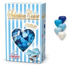 Confetti Cuoricini Mignon Selection Color Celeste da 500 g