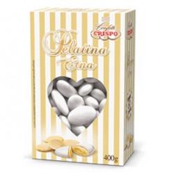 Confetti alla Mandorla Pelatina Etna bianchi in confezione da 400 g