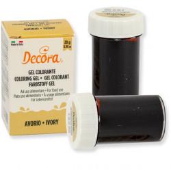 28 g Colorante alimentare in gel Avorio Decora
