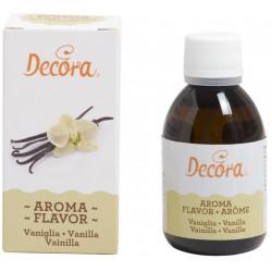 50 g Aroma naturale vaniglia per impasti e creme per dolci e torte da Decora