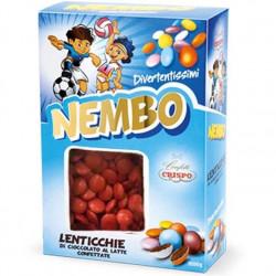 Confetti Nembo Lenticchie rosse di Cioccolato al latte da 1kg di Crispo