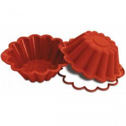 Stampo brioche in silicone con anello da 22 cm, SFT522 di Silikomart