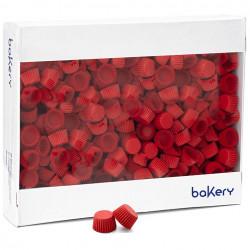 5000 Pirottini Mini Bonbon rossi in carta forno per confetti diametro 2 cm altezza 1,4 cm da Decora