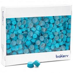 5000 Pirottini Mini Bonbon azzurri in carta forno per confetti diametro 2 cm altezza 1,4 cm da Decora