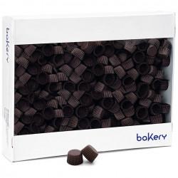 5000 Pirottini Mini Bonbon marroni in carta forno per confetti diametro 2 cm altezza 1,4 cm da Decora