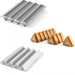 Modular Flex Trilogy Stampo Professionale Flessibile Modulare da Silikomart
