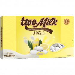 Confetti Two Milk Limoncello, il doppio cioccolato da 1kg  di Maxtris