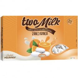 Confetti Two Milk Arancia, il doppio cioccolato da 1kg  di Maxtris