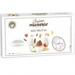 Confetti Maxtris Frutta Bianchi cioco-mandorla alla frutta da 1 Kg