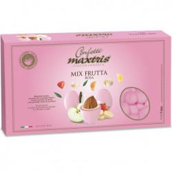 Confetti Maxtris Frutta Rosa cioco-mandorla alla frutta da 1 Kg