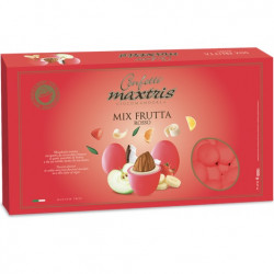 Confetti Maxtris Frutta rossi cioco-mandorla alla frutta da 1 Kg