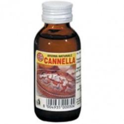 Aroma naturale per dolci alla cannella Ela, liquido in bottiglia da 60 cc