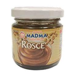 Pasta Roscé o Rocher per gelati, creme e torroni, in barattolo da 100 g di Madma.