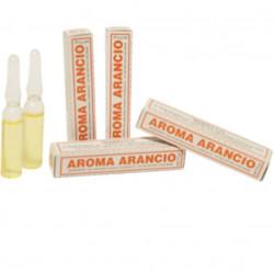 Aroma arancio liquido da Madma in fiala da 2 g, per aromatizzare impasti e creme per dolci
