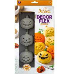 Stampo in Silicone Zucchette Halloween da Decora