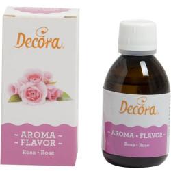 50 g Aroma naturale rosa per pastiera, impasti e creme per dolci e torte da Decora