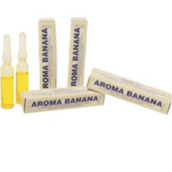 Aroma Banana liquido da Madma in fiala da 2 g, per aromatizzare impasti e creme per dolci