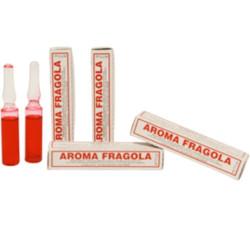 Aroma fragola liquido da Madma in fiala da 2 g, per aromatizzare impasti e creme per dolci