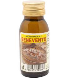 Aroma naturale per dolci Benevento, liquido in bottiglia da 60 cc, da Ela
